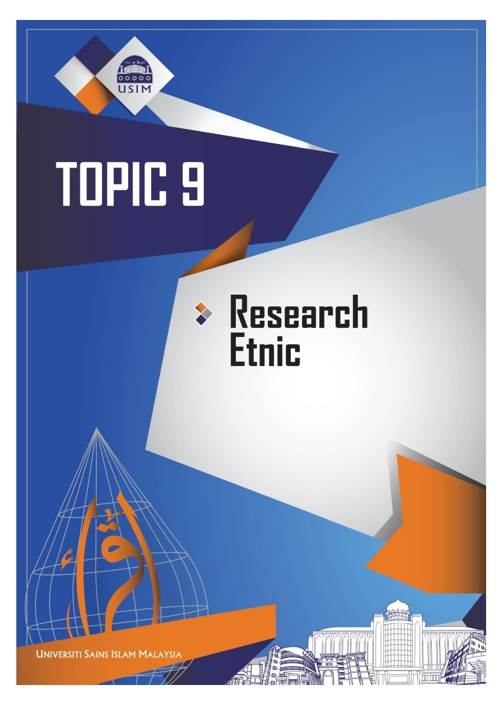 TOPIC 9 - RESEARCH ETNIC