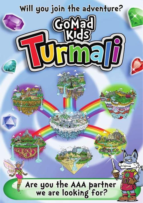 GoMadKIds Turmali game