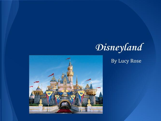 Lucy - Disneyland