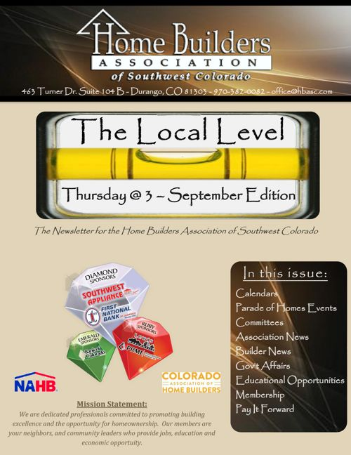 The Local Level - September Edition