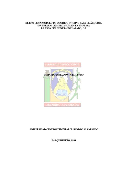 Control interno de inventario