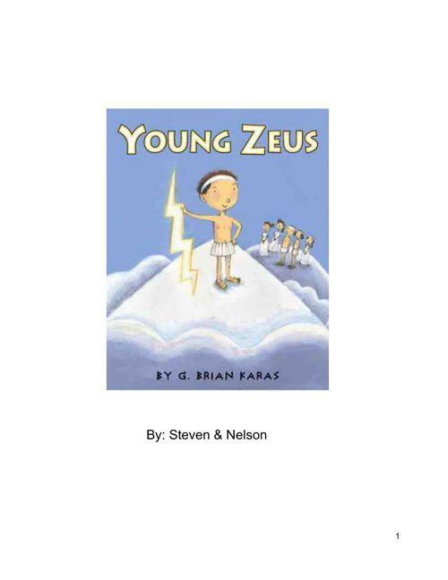 childrenbook Zeus