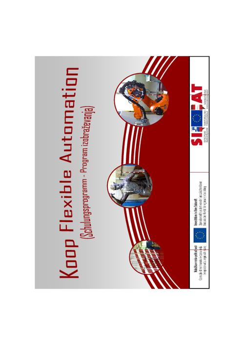Izobrazevalni programi za flekcibilno avtomatizacijo
