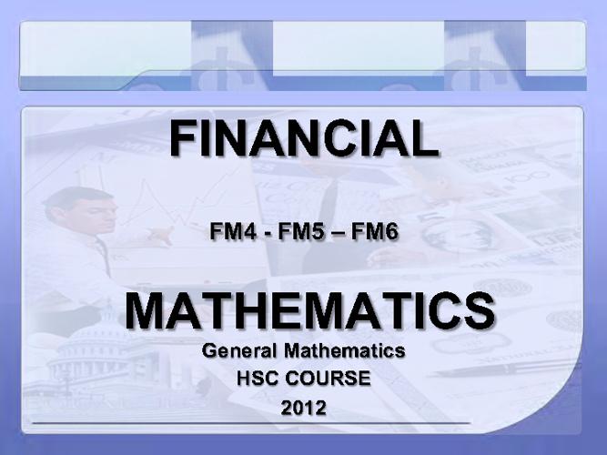 FM4 presentation 1