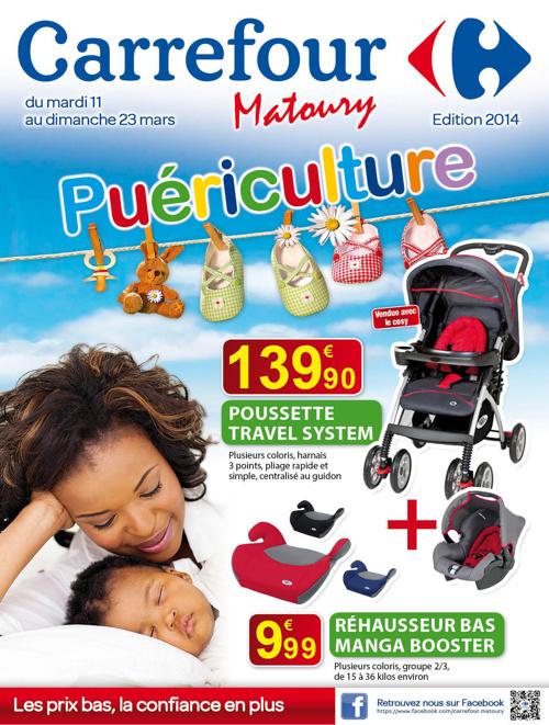 Carrefour : catalogue Puériculture mars 2014