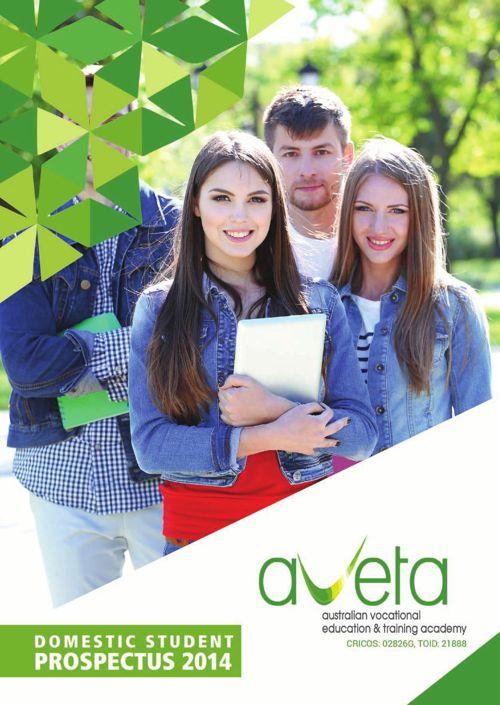 Aveta domastic student brochure