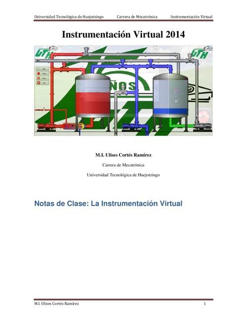 Introducción a la Instrumentación Virtual