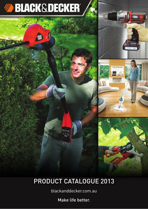 Black Decker Catalogue 2013