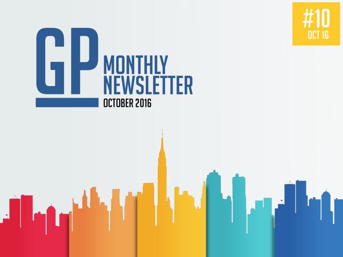 GP Monthly Newsletter - October 2016