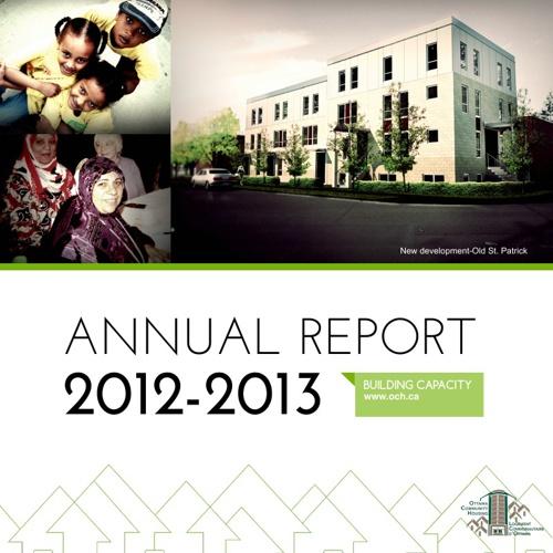 OCHC Annual Report Final (04.22.13)