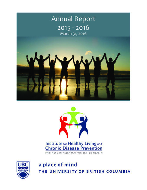 IHLCDP 2015 - 2016 Annual Report