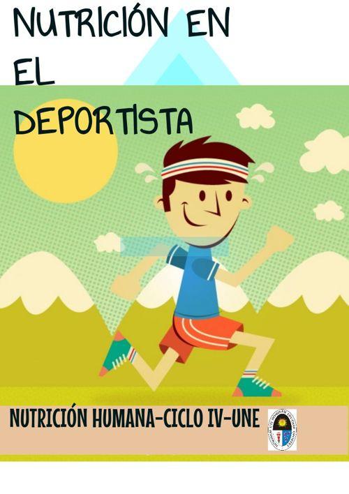 NUTRICION ENE L DEPORTE