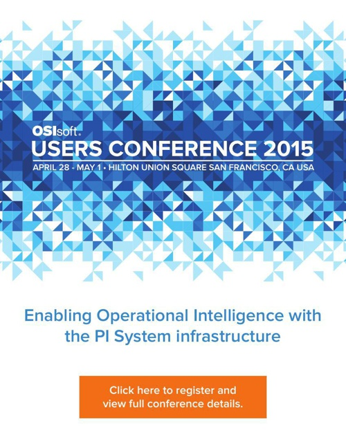 OSIsoft Users Conference 2015