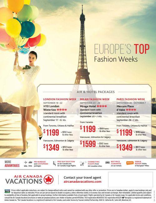 10. ACV fashion week flyer