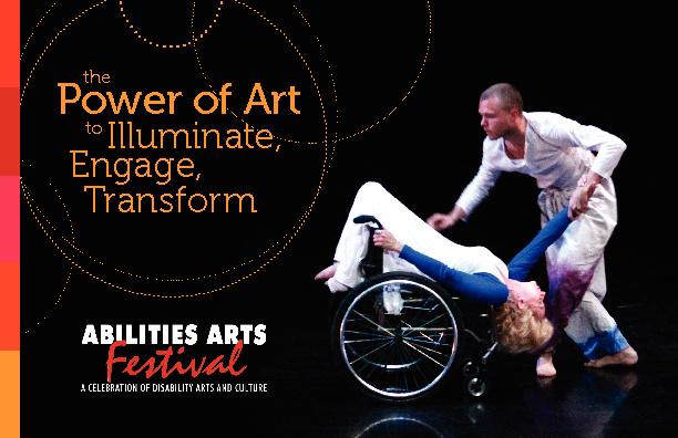 Abilities Arts Festival 2012 Brochure