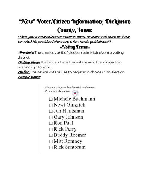 Voter Handbook: Abigayle H.