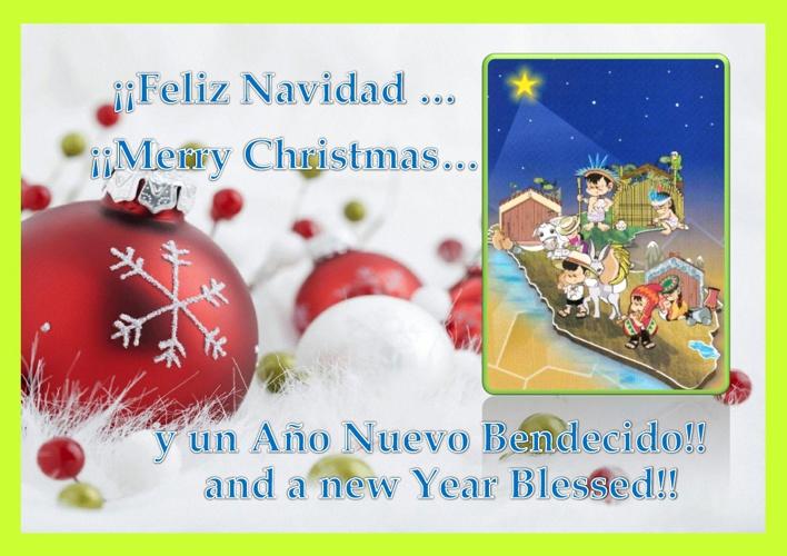 Tarjeta Navidad 2012 Dominicas
