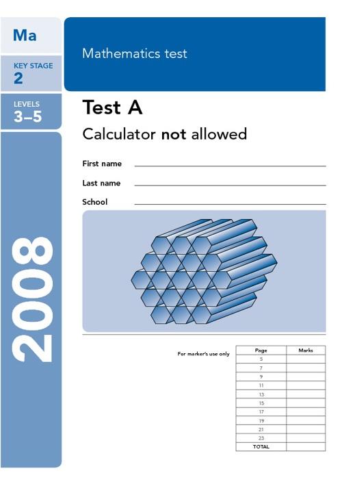 Maths Paper A 2008