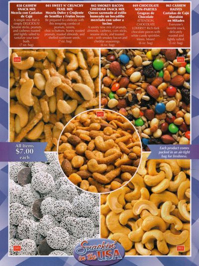 Snackin' in the USA Catalog 2016
