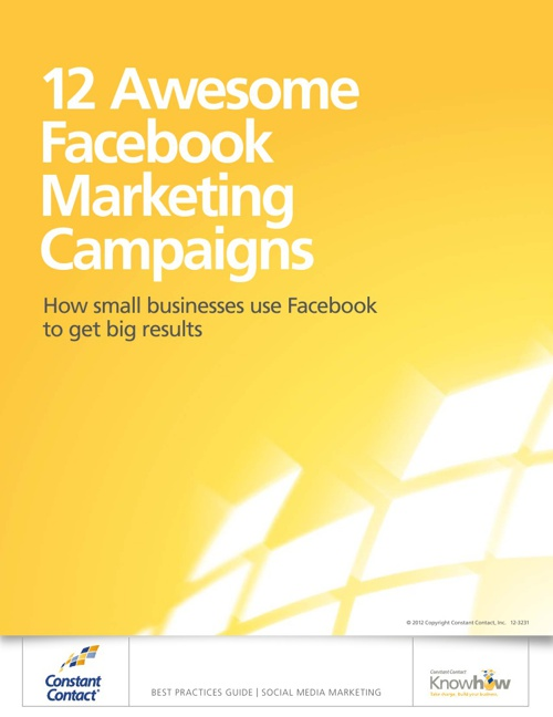 12 Awesome Facebook Marketing Campaigns