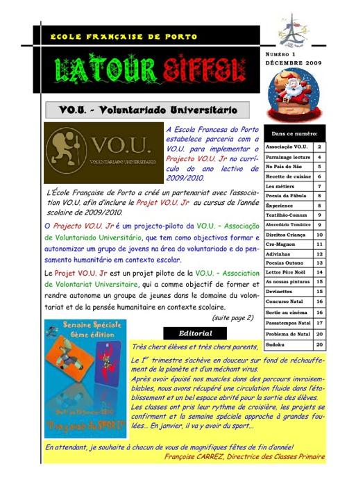 Jornal - Latour Eiffel (dezembro)