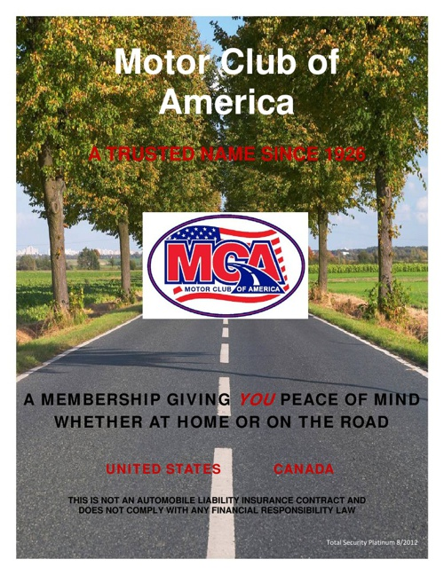 MCA BENEFITS