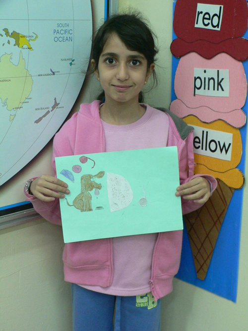 Grade 3 -My Favorite Letter Project