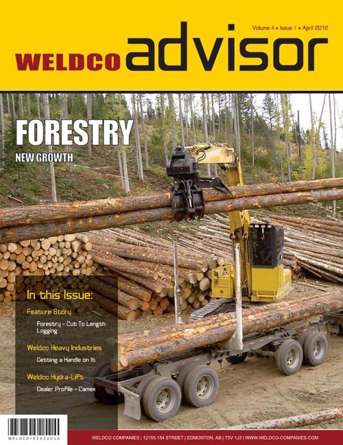 Weldco Advisor - Volume 4 | Issue 1 | April 2012