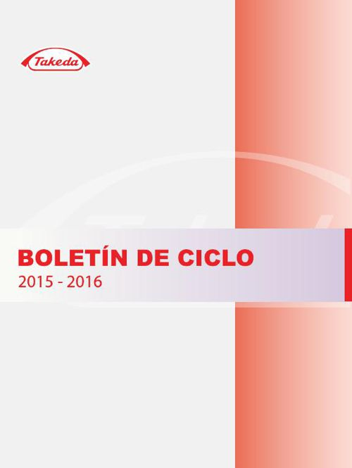 Boletin takeda 2015 - 2016