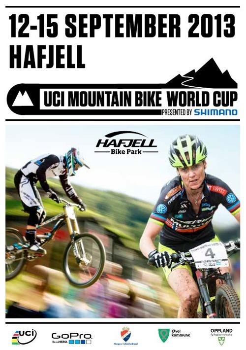 Program UCI World Cup Mountain Bike - Hafjell 2013