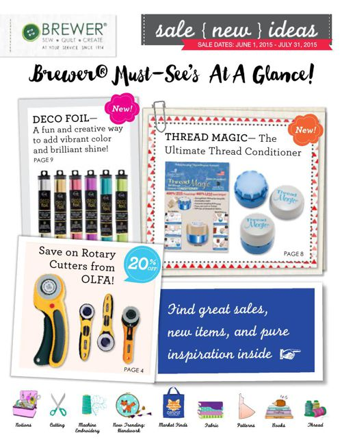 June-July 2015 Sales Flyer