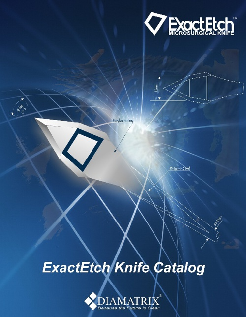 ExactEtch Disposable Knife Catalog