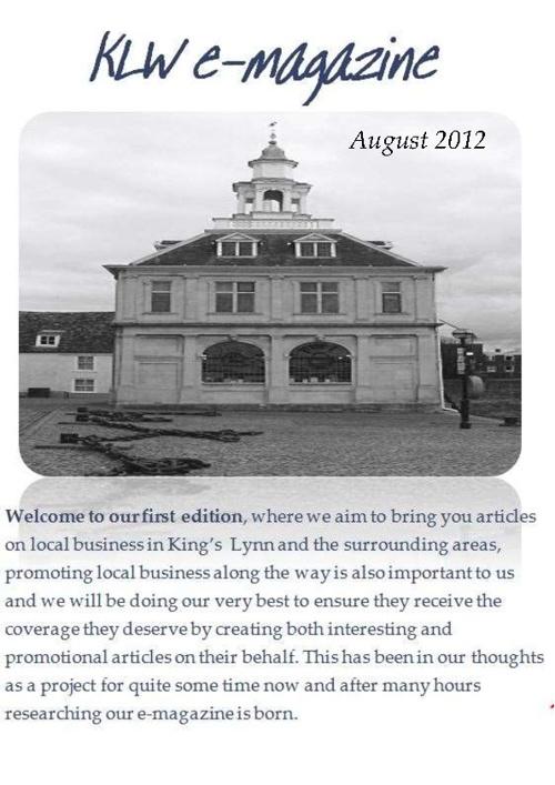 KLW E Magazine August 2012