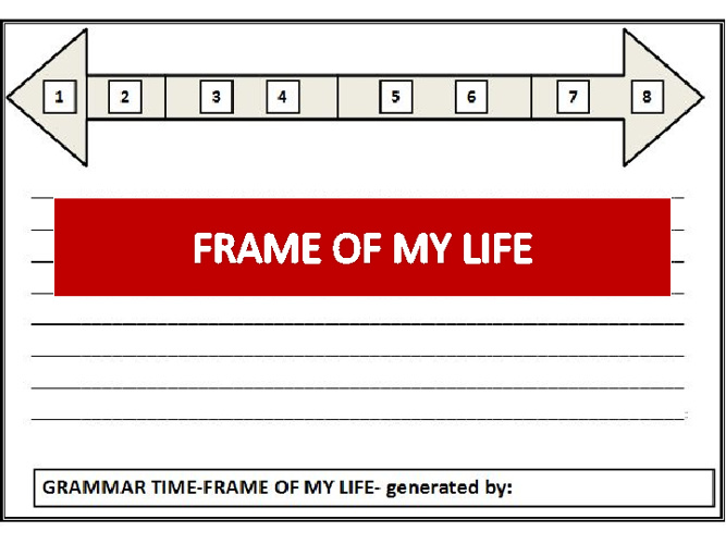 My Hazırlık Time Frame Activity