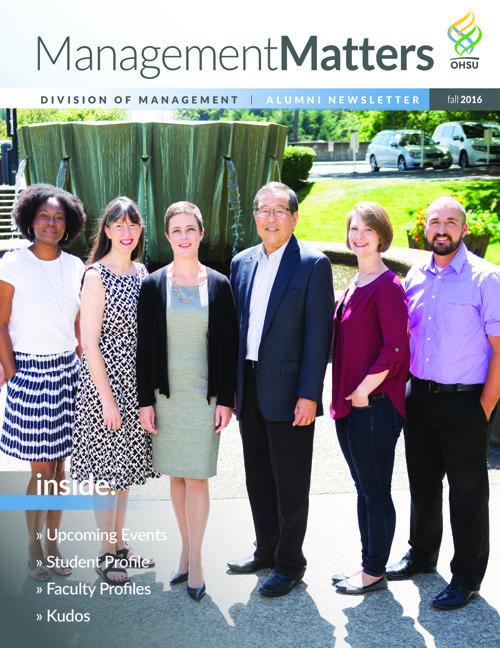 Fall 2016 Alumni Newsletter