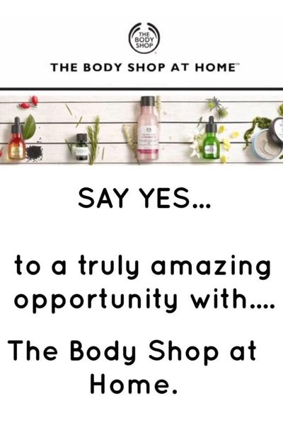 Claire Osborn Opportunity Brochure - The Body Shop at Home.