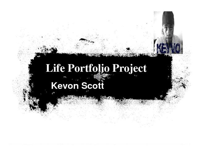 Kevon Scott My Llife