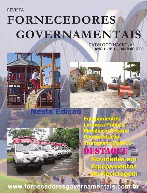 Revista Fornecedores Governamentais 1