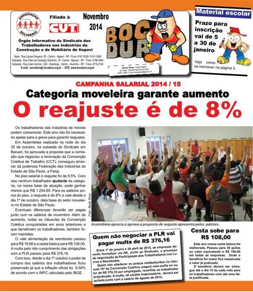 Informativo Bocadura Novembro 2014