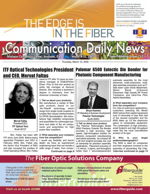 Communication Daily News	March 8-10, 2005