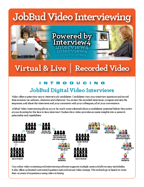Free Virtual & Live | Recorded Video Interviews