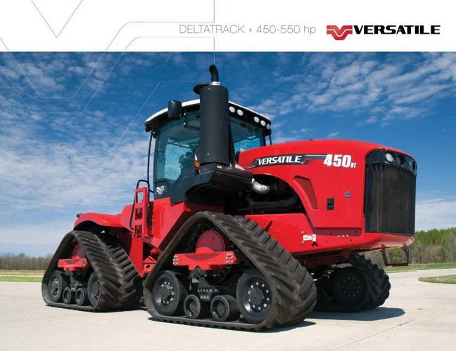 Versatile Delta Track -4WD-450DT-550DT prospektus