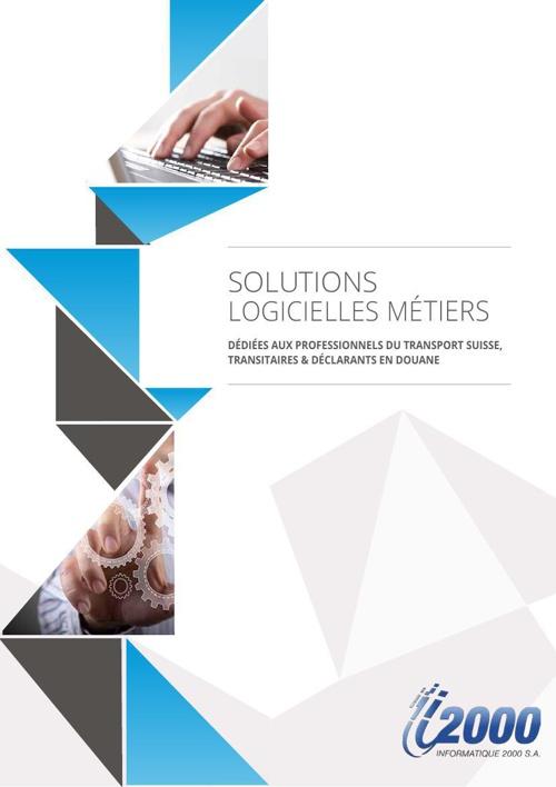 Brochure solutions logicielles suisses