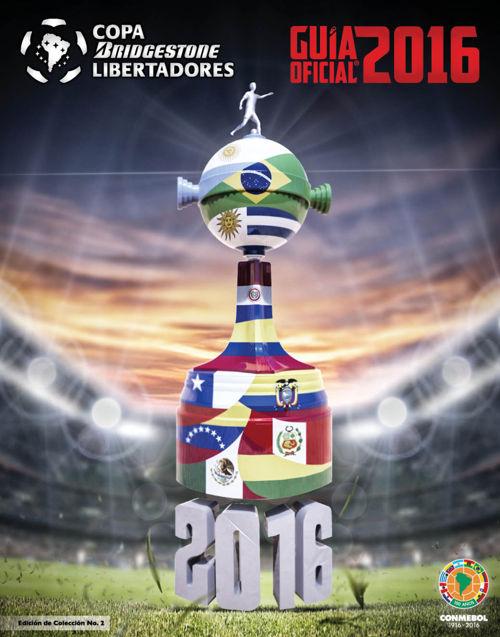 Guía Oficial: Copa Bridgestone Libertadores 2016
