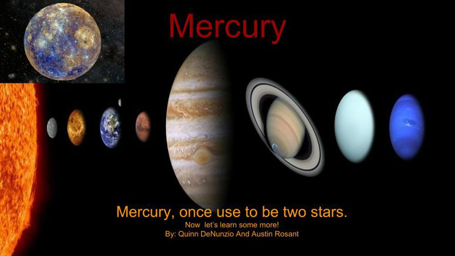 a study of the planet mercury Planet mercury our solar system consists of the sun and nine planets mercury is the closest planet to the sun mercury was named 2017 study moose.