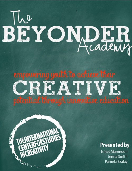 The Beyonder Academy Youth Program Proposal November 2012
