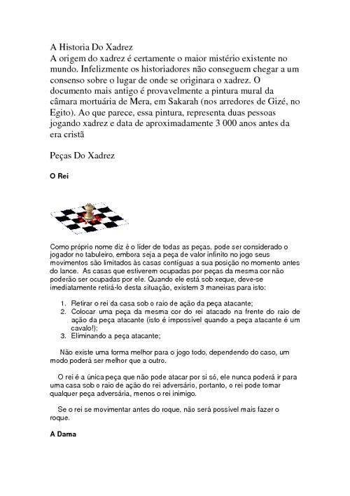 XADREZ - HUGO E VIVIAN