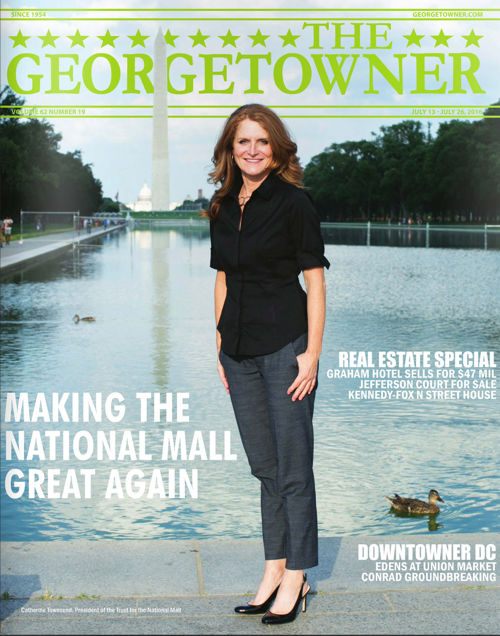 Georgetowner Trust for the National Mall Cover Story Jul2016