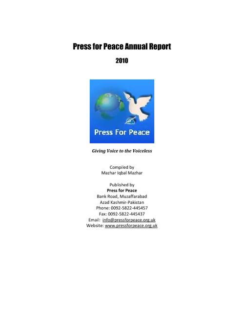 PFP Annual Report 2010