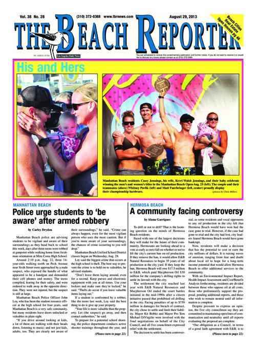 The Beach Reporter | 8-29-13
